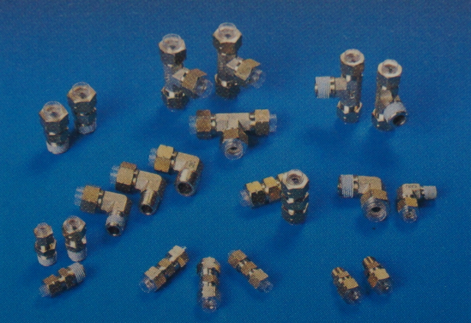 One touch fittings couplers two fitting bsbm