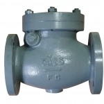 MARINE CAST IRON SWING CHECK  VALVES