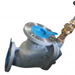 Marine Cast Steel Screw-Down Vertical Angle Storm Valves